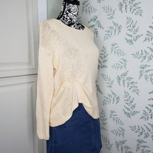 J. Jill purejill Sunwhite Knit Sweater